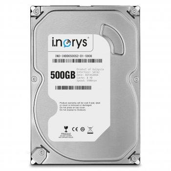 HDD накопитель SATA 500GB i.norys 7200rpm 16MB NO-IHDD0500S2-D1-7216
