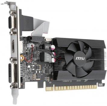 Відеокарта GF GT 710 1GB DDR3 LP MSI GT 710 1GD3 (LP
