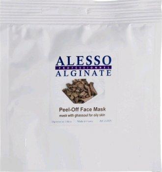 Альгинатная маска для лица Alesso с Глиной Гассул для жирной и комбинированной кожи 25 г (3273629212179)