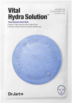 Увлажняющая маска для лица Dr. Jart+ Dermask Water Jet Vital Hydra Solution 30 г (8809642712201/8809380645526)