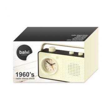 Радіо-будильник Balvi 1960's чорний