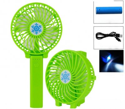 Вентилятор міні Handy Mini Fan,вентилятор USB Green