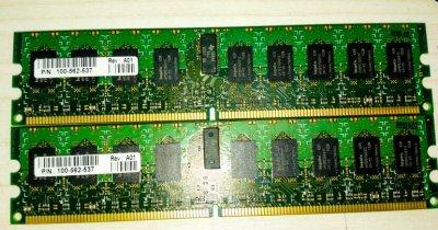 Оперативна пам'ять EMC 2GB DDRII 667Mhz CL5 RAM (100-562-537) Refurbished