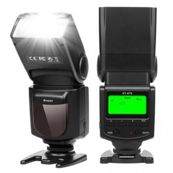Вспышка для фотоаппаратов Canon - SHOOT Speedlite XT-670