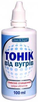 Тоник для проблемной кожи Clean & Sujee От угрей 100 мл (4820142435197)