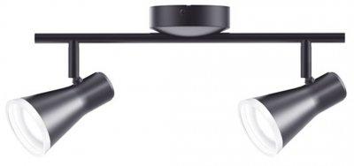 Спотовий світильник MAXUS MSL-02C 8W 4100K чорний (2-MSL-20841-CB)