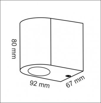 Настінний світильник Polux 303349 BOSTON