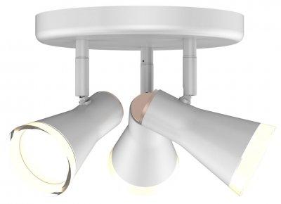 Спотовий світильник MAXUS MSL-02R 12W 4100K білий (3-MSL-21241-RW)