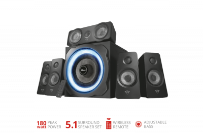 Акустична система Trust GXT 658 Tytan 5.1 Surround Speaker System(21738)