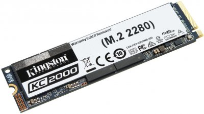 Kingston KC2000 500GB NVMe M.2 2280 PCIe 3.0 x4 3D NAND TLC (SKC2000M8/500G)