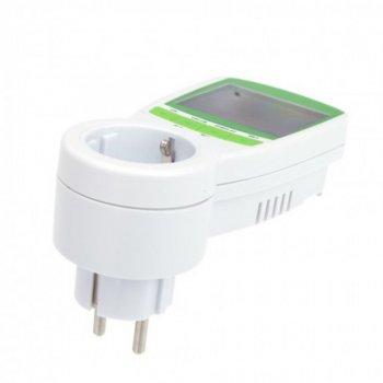 Розетка з лічильником електроенергії (ватметр побутової) UMI TS-838