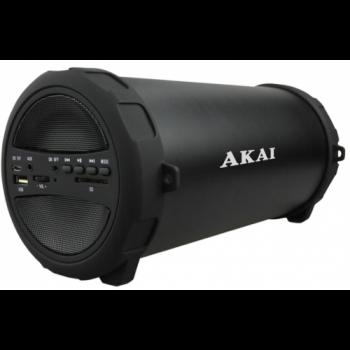 Портативна колонка Akai ABTS-11B чорна з радіо