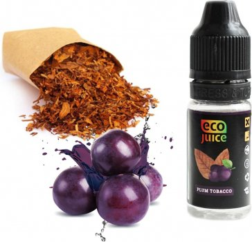 Рідина для електронних сигарет Eco Juice Plum Tobacco 30 мл (Тютюн + чорнослив)