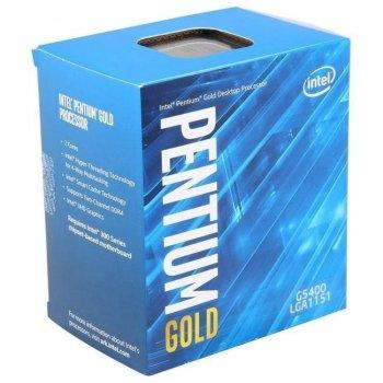 Процесор Intel Pentium Gold G5400 3.7 GHz/8GT/s/4MB s1151 BOX (BX80684G5400)