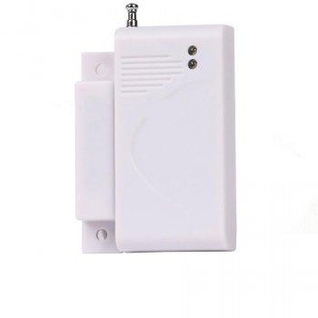 Бесроводной датчик відкриття дверей вікон reed switch GSM 433 МГц для GSM сигналізації (2323280941131)