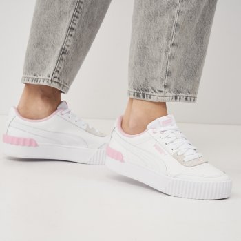 Кеди Puma Carina Lift 37303110 White-Pink Lady