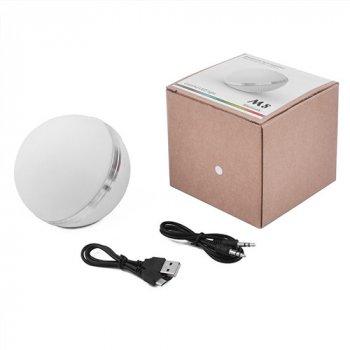 Портативна колонка М8 Bluetooth матовий, світильник RGB, радіо