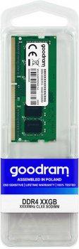 Оперативна пам'ять Goodram SODIMM DDR4-2400 16384MB PC4-19200 (GR2400S464L17/16G)