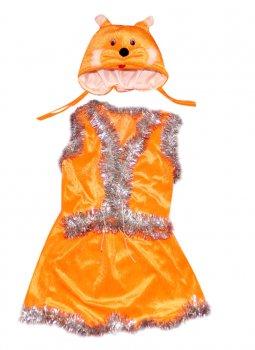 Детский карнавальный костюм Белка 110-116 см
