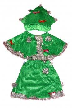 Детский карнавальный костюм Елка 110-116 см