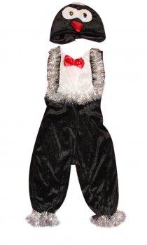 Детский карнавальный костюм Пингвин 110-116 см