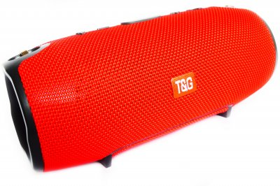 Портативна Bluetooth стерео колонка вологостійка бездротова T&G Xtreme Червона (Xtreme 13 Red)