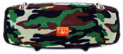 Портативна bluetooth стерео колонка колонка T&G Xtreme 2 mini Камуфляж (Xtreme 2 mini Como)