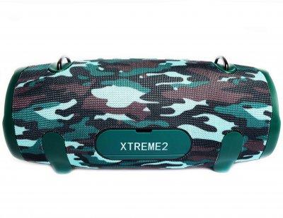 Портативна бездротова Bluetooth стерео колонка T&G Xtreme 2 Big Камуфляж (Xtreme 2 Como)