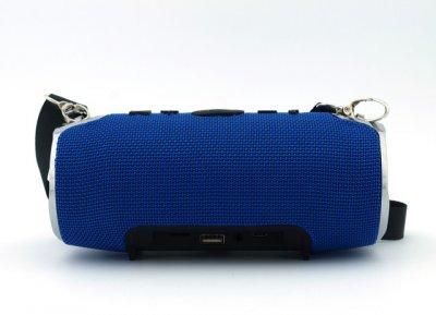Портативна бездротова Bluetooth стерео колонка T&G Xtreme 12 Синя (Xtreme 12 Blue)