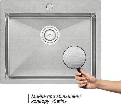 Кухонная мойка QTAP D6050 2.7/1.0 мм (QTD605010)