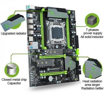 Материнська плата Huananzhi X79 2.49 (s2011, Intel X79, PCI-Ex16)