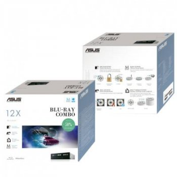 Оптический привод Blu-Ray/HD-DVD ASUS BC-12D2HT/BLK/G/AS