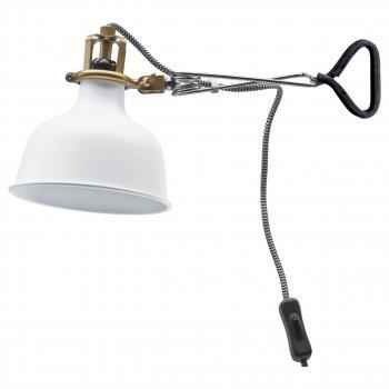 Бра IKEA (ІКЕА) RANARP білий з відтінком (102.313.21)