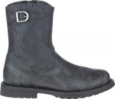 Чоловічі чоботи Harley-Davidson Danford Pull On Motorcycle Boot Black Full Grain Leather