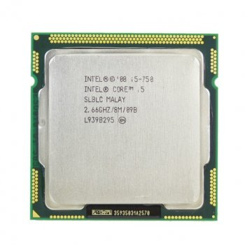 Процессор Intel Core i5-750 8M Cache up to 3.20 Ghz Socket 1156