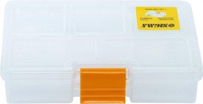 Органайзер пластиковый Sigma прозрачный 135 х 100 х 30 мм (7418011)
