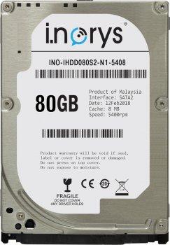 "Жорсткий диск 2.5"" 80GB SATA i.norys (INO-IHDD080S2-N1-5408)"