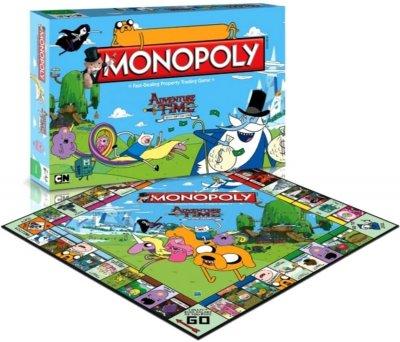 Настільна гра Winning Moves Монополія Adventure Time (5036905021487)