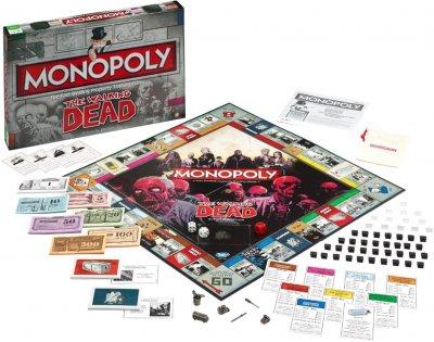 Настільна гра Winning Moves Монополія Walking Dead (503690521470)