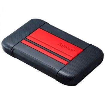Зовнішній жорсткий диск APACER AC633 2TB Power Red (AP2TBAC633R-1)