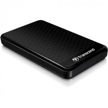 Зовнішній жорсткий диск TRANSCEND Storejet 25A3 1TB Black (TS1TSJ25A3K)