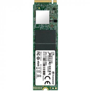 SSD накопичувач TRANSCEND MTE110S 1TB PCIe 3.0 x4 M. 2 3D TLC (TS1TMTE110S)