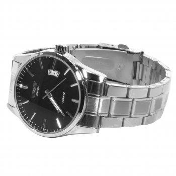 Мужские часы Swidu SWI-021 Silver + Black (3089-8713а)