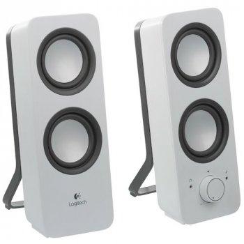 Колонки LOGITECH Multimedia Speakers Z200 white (980-000811)
