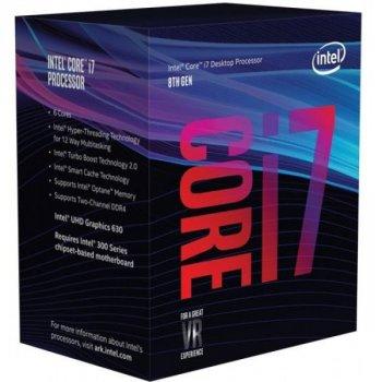 Процесор Intel Core i7-8700K BX80684I78700K (s1151, 3.7 GHz) BOX