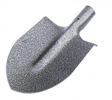 Лопата штыковая ГОСПОДАР GM 250*210 мм молотковая покраска 2,2 мм 14-6221