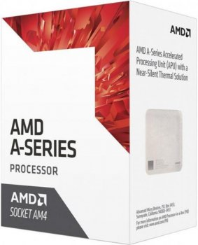 Процесор AMD A6 X2 9400 (3.5 GHz 65W AM4) Box (AD9400AGABBOX)