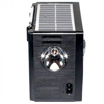 Радиоприемник NNS 1361S Solar Черный (BS1970)