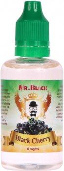 Жидкость для электронных сигарет Mr.Black Black Cherry 6 мг 50 мл (Ароматная вишня) (MR6945)