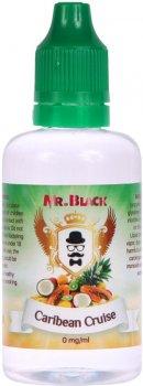 Жидкость для электронных сигарет Mr.Black Caribean Cruise 0 мг 50 мл (Микс тропических фруктов) (MR7809)